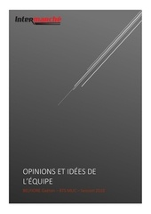 synthese opinions et idees de lequipe