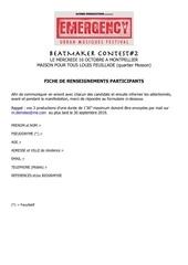 Fichier PDF formulaire candidatbeatmaker contest