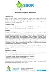 Fichier PDF concepteur graphique et artistique