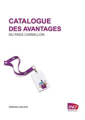 catalogue avantages pass carmillon