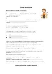contrat de petsittingrtf