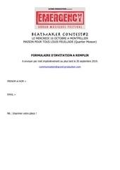 Fichier PDF formulaire invitation contest 1