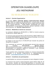 reglement awpg   operation guadeloupe   29 07 19