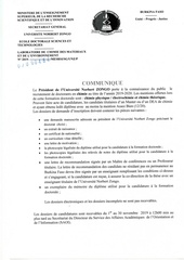 communique recrutement doctorants en chimie