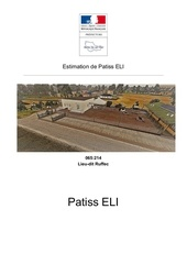 estimation de patiss eli