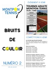 bruits de couloir 2