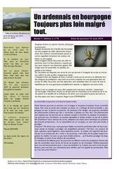un ardennais en bourgogne journal mensuel aout 2019