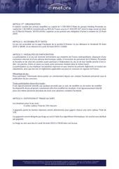reglement e motors jeu facebook 23 aout 2019