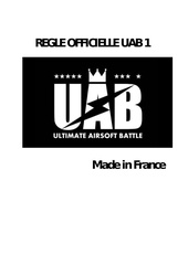 reglement uab 1 made in france