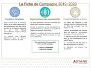 la fiche campagne 2019 2020 1 axiane