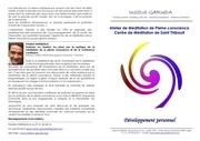 plaquette meditation institut garuda sm