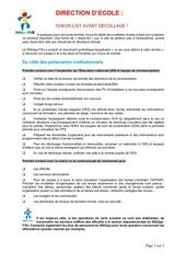 checklistdirection decole
