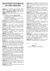 fiche dinscription et reglement vide grenier 22 9 19