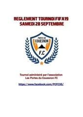 reglement complet tournoi fifa19