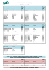 horaires transports scolaires hebecourt mainneville2019 2020