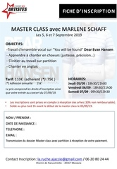 fiche inscription master schaff