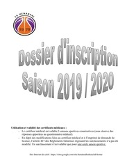 demande de licence jeune 2019 2020