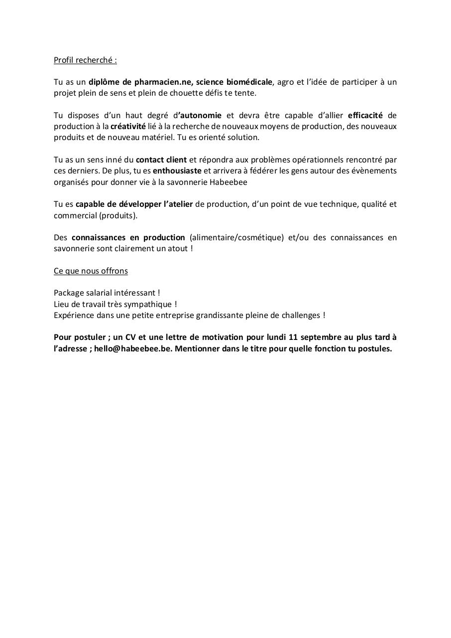 Habeebee recrute_RESPONSABLE PRODUCTION.pdf - page 2/2