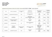 programme 1 a 20