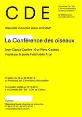 dossier artistique la conference des oiseaux 25092018