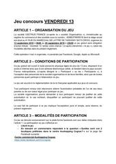 reglementjeuvendredi13cognac