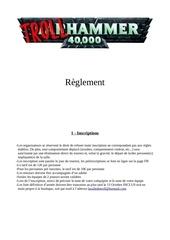 regles tournoi 40k 1