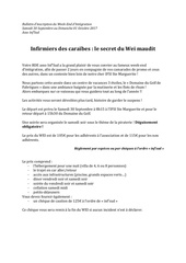 bulletin dinscription du wei 1
