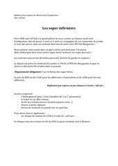 bulletin dinscription du wei