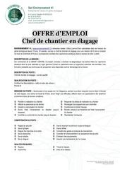 offre emploi chef de chantier elagage capricorne 2019 2020 v3