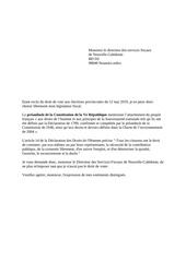 lettre type aux services fiscaux 2019