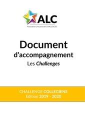 document daccompagnement challenge collegiens 2019 2020