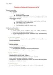 evaluation et pratique de lenseignement du fle 1