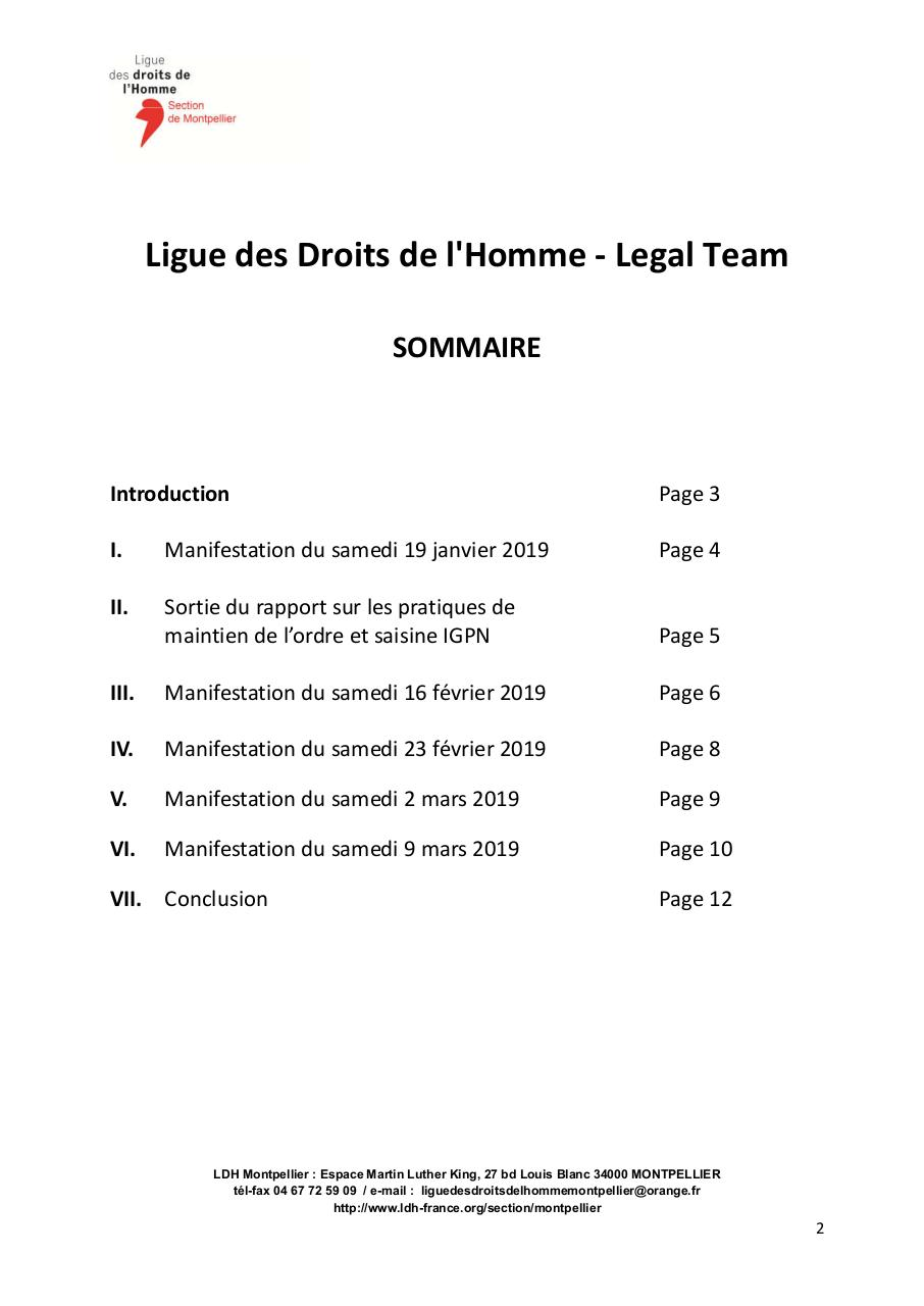 Legal-Team-Montpellier-rapport-observateurs-20-mars-2019.pdf - page 2/12