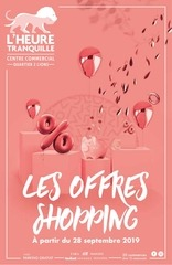 ofrre shopping heure tranquille