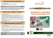 documents et tarifs pc