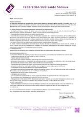 preavis greve federation sud sante sociaux 8 octobre 2019