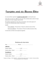 inscription poule au pot 2019