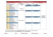 planning dencadrement tsc14