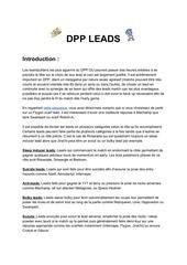 dpp leads