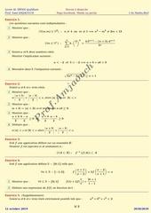 devoirs a domicile 1smf