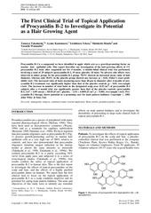 mostal procyanidin b2 1st study