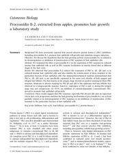 mostal procyanidin b2 2nd study