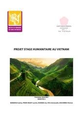 projet stage humanitaire au vietnam dossier complet
