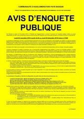 affiche a2 enquete publique  jaune ep plui ph