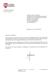 crna reponse au courrier 250919 transports ac 1110191