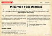 article disparition1