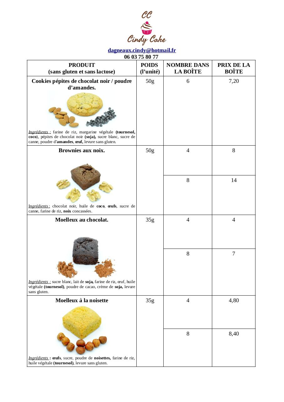 catalogue pâtisseries SGL.pdf - page 1/2