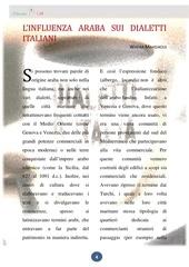 2 linfluenza araba sul dialetto italiano
