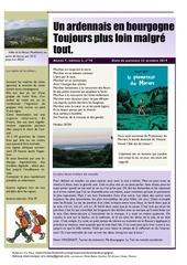 un ardennais en bourgogne journal mensuel octobre 2019