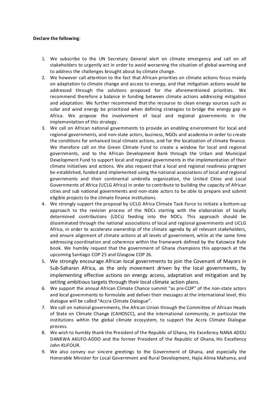 Aperçu du document declaration-of-the-climate-chance-summit-africa-2019-rd.pdf - page 2/3